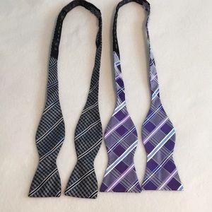Michael Kors & Nicole Miller bow ties
